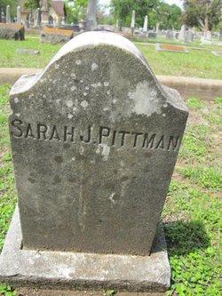 Sarah J <i>Mercer</i> Pittman