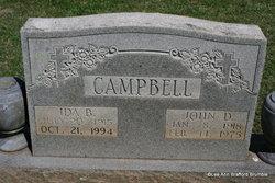 John D Campbell