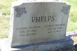 Claudia <i>Vaughn</i> Phelps