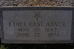 Ethel <i>East</i> Abner