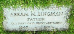 Abram Maxwell Bingman