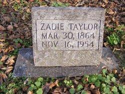 Canzadie Zadie <i>Sharp</i> Taylor