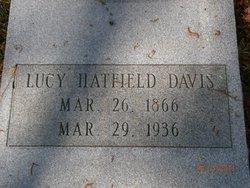 Lucy B. <i>Hatfield</i> Davis