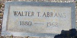 Walter T Abrams