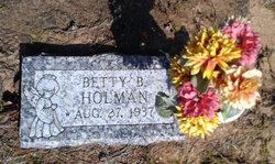 Betty B Holman