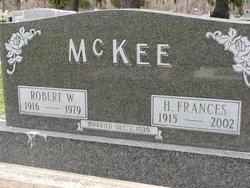 Frances Helen <i>Hutchins</i> McKee