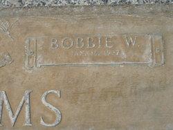 Bobbie W. Adams