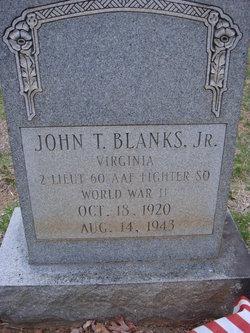 John T Blanks, Jr