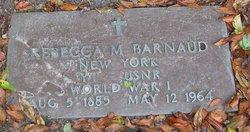 Rebecca M Barnaud