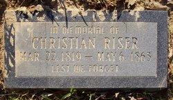 Christian Riser
