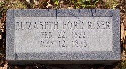 Elizabeth <i>Ford</i> Riser