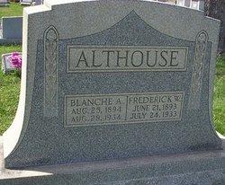 Blanche A <i>Nace</i> Althouse
