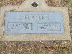 Marie M. <i>Minear</i> Bowser