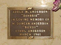 Adela M <i>Tesch</i> Anderson