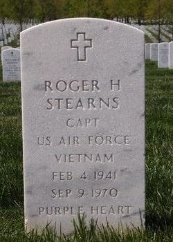 Capt Roger Horace Stearns