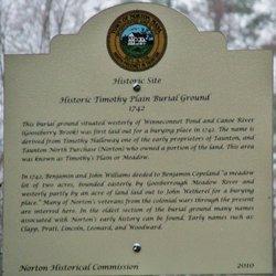 Timothy Plain Cemetery