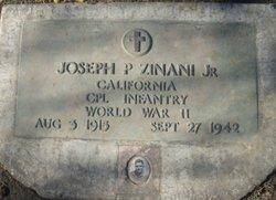 Corp Joseph P Zinani, Jr