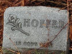 Bertha <i>Lindner</i> Hoffer
