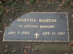 Martha Mary <i>Csicsics</i> Martin