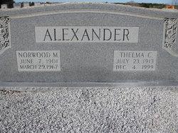 Thelma <i>Chance</i> Alexander