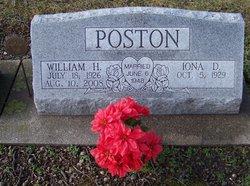 Iona D <i>Shaffer</i> Poston