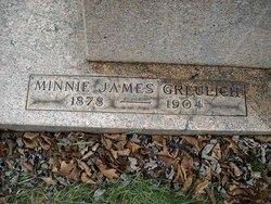 Minnie <i>James</i> Greulich
