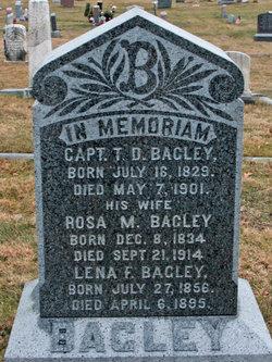 Rosa M <i>Reed</i> Bagley
