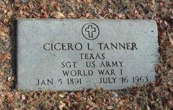 Cicero L Tanner
