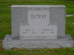 Paul F DeTray