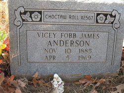 Vicey Fobb <i>James</i> Anderson