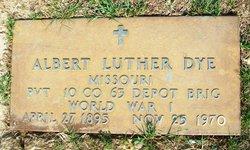 Pvt Albert Luther Dye