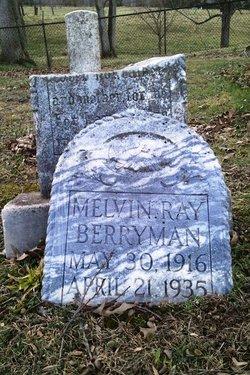 Melvin Ray Berryman