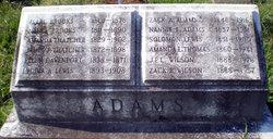 Nannie E <i>Thatcher</i> Adams