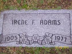 Irene F. Adams