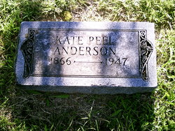 Kate <i>Peel</i> Anderson