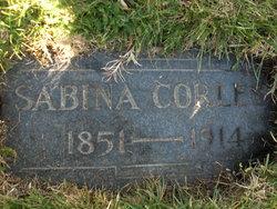 Sabina <i>Parker</i> Corless