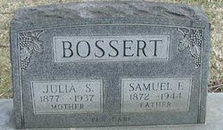 Julia S. <i>Schieferstein</i> Bossert