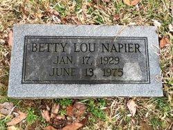 Betty Lou <i>Hendrickson</i> Napier