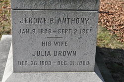 Julia <i>Brown</i> Anthony