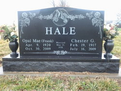 Opal Mae <i>Frank</i> Hale