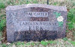 Carolyn Yvonne Kirk