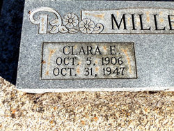 Clara E <i>Davis</i> Miller