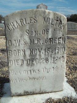 Charlie Milton Green