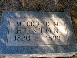 Mildred M Huston