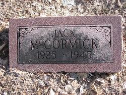 PFC Jack Dan McCormick