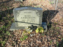 Mary <i>Little</i> Anderson