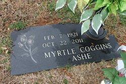 Myrtle <i>Coggins</i> Ashe