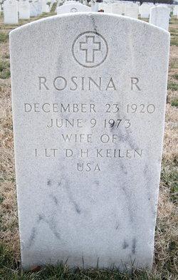 Rosina R <i>Kiessling</i> Keilen