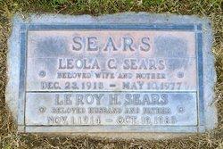 Leroy Hintze Sears