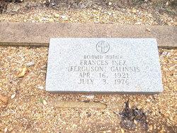 Frances Inez <i>Walsh</i> Galinnis